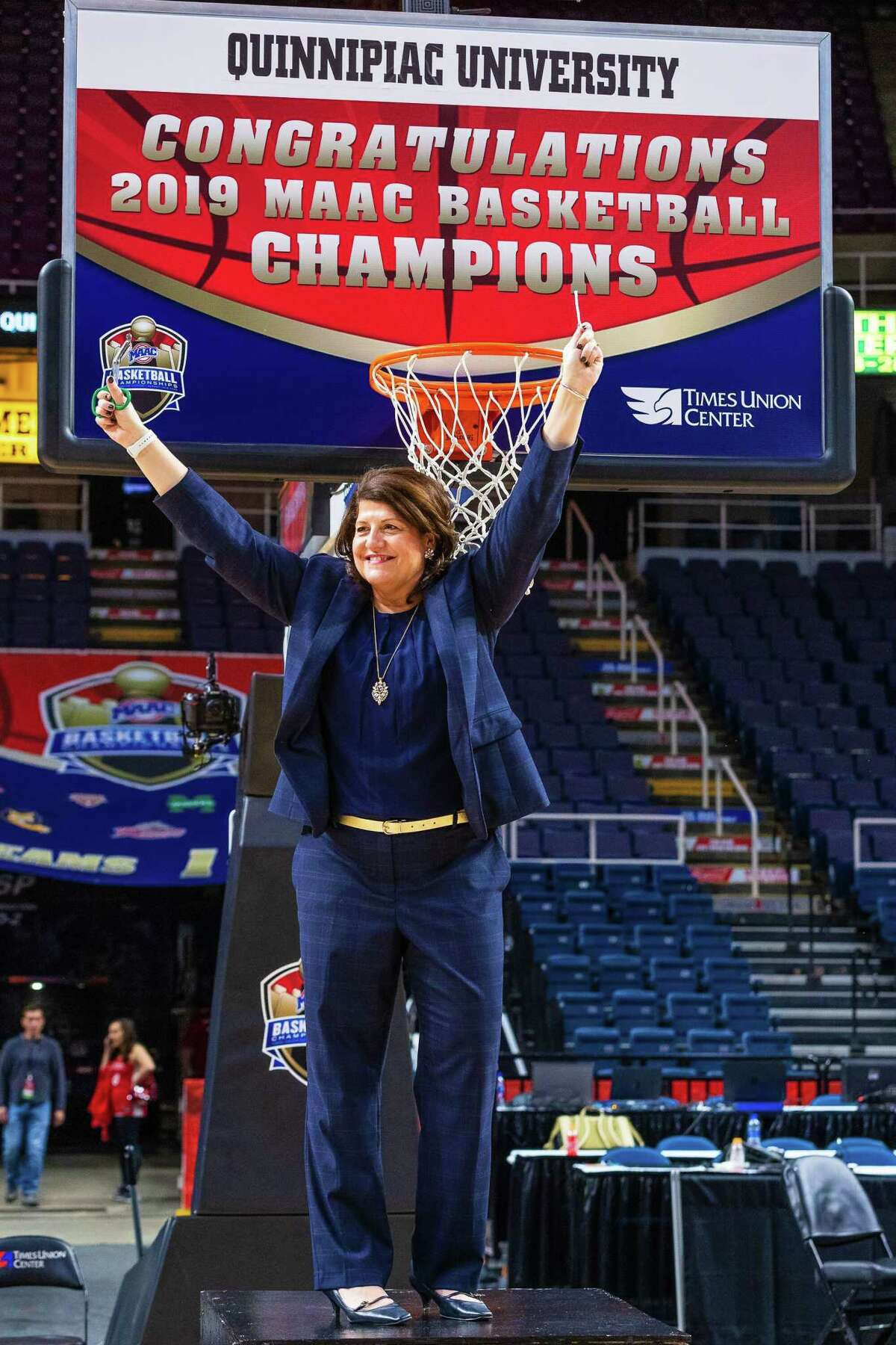 The Quinnipiac women's basketball team earned an NCAA tournament berth with a win in the MAAC championship.