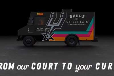 """On Oct. 3, the new Spurs Street Eats food truck will hit the road to feed foodies and fans. Spurs Sports and Entertainment describes the food truck scene newcomer as a way of """"bringing San Antonio flavor from the court to the curb."""""""