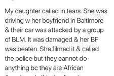 Texas cardiologist Andrea Natale went viral on Twitter over the weekend when he posted that his daughter had been attacked by Black Lives Matter activists in Baltimore, claiming the police refused to do anything because the alleged assailants were Black. (Screengrab of Dr. Andrea Natale's tweet via WJZ-13 in Baltimore)