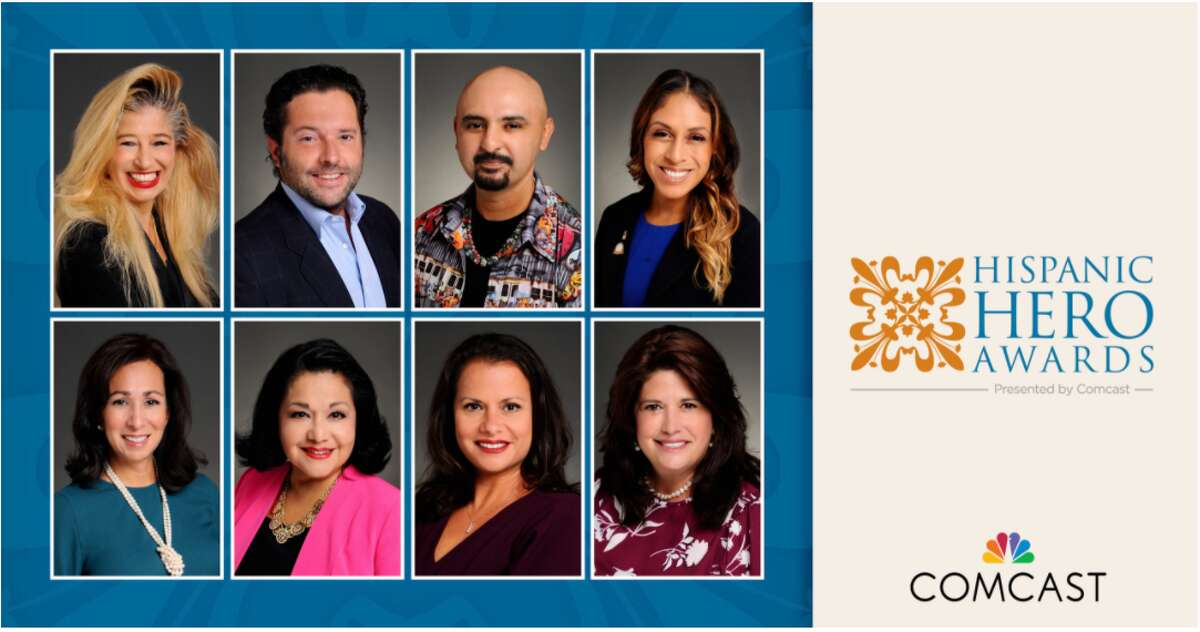 Comcast to recognize eight Houstonians for their fifth annual Comcast Hispanic Hero Awards to be celebrated through a series of vignettes on the company's social media platforms.