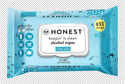 "The Honest Company""Keepin' It Clean"" Alcohol Wipes, $18.99 on Amazon when you clip the $1 coupon"