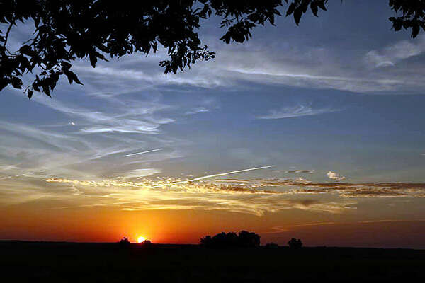 Reader Chrissy Varble-Osterman captured this colorful sunset in west-central Illinois.