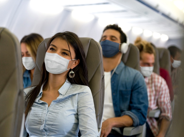 Face masks on flights 'critically important' to prevent COVID-19 spread, Harvard study finds