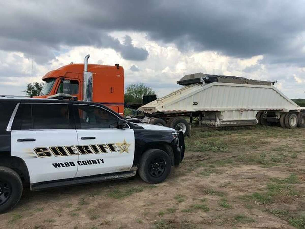 This stolen trailer was recovered Wednesday at a ranch approximately eight miles east on Highway 359.