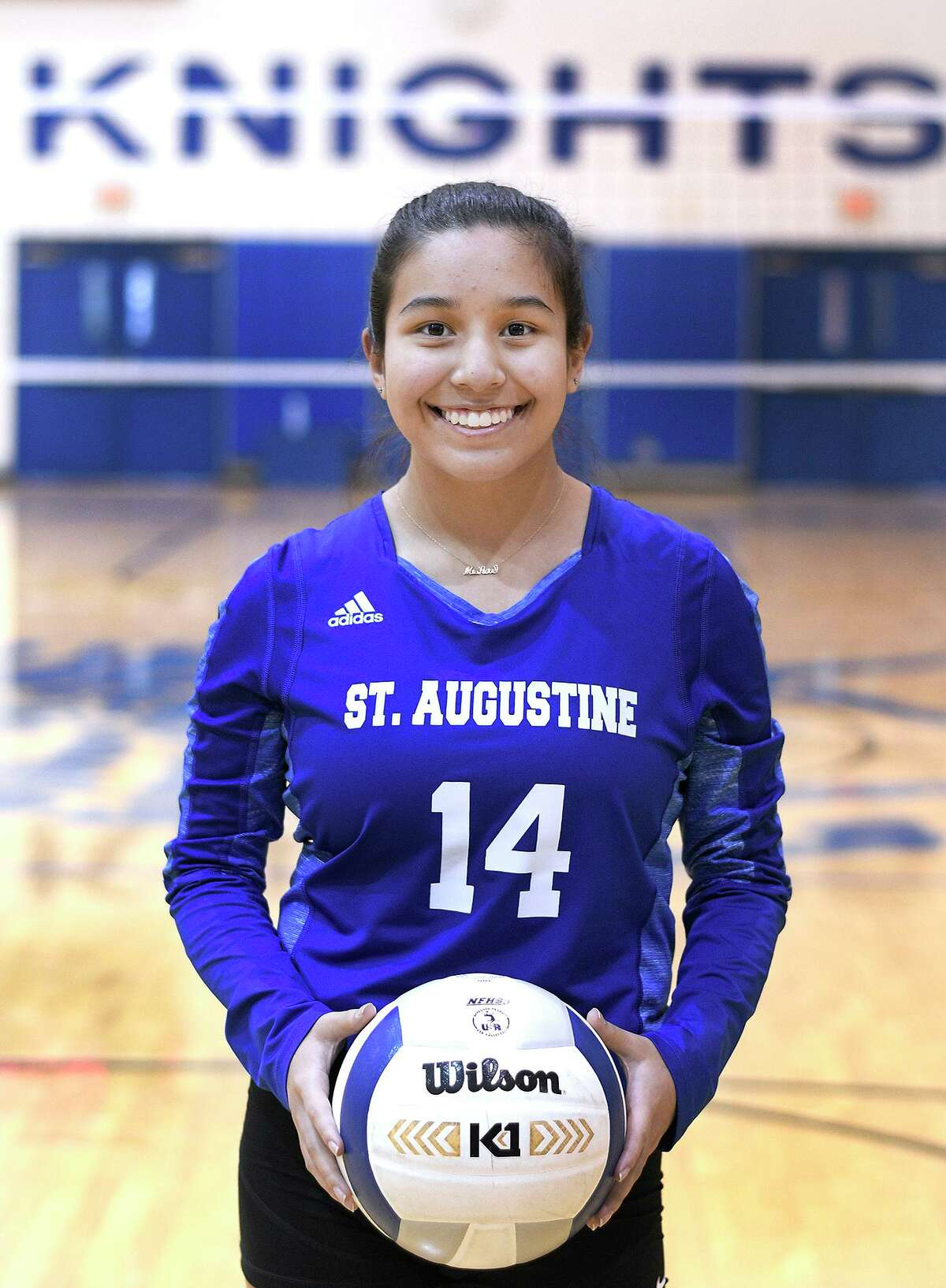 Mia-Rose Flores had 57 assists in St. Augustine's 3-2 win over Carrizo Springs in the season opener.