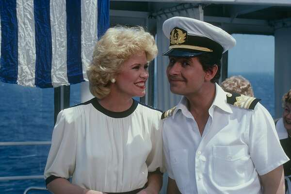 "LOVE BOAT - ""Greek Cruise: The Captain and Kid/The Dean and The Flunkee/Poor Rich Man/Isaac Aegean Affair"" which aired on February 5, 1983. (Photo by Walt Disney Television via Getty Images Photo Archives/Walt Disney Television via Getty Images) LAUREN TEWES;FRED GRANDY"
