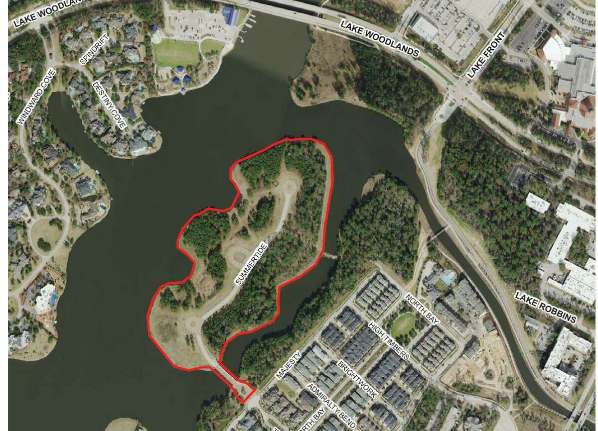Controversy has erupted in The Woodlands after plans from the Howard Hughes Corp. were unveiled detailing a proposed new development on Mitchell Island in the East Shore area of the township. The island, currently empty, was set to have 19 mega mansions built on it. Now, Howard Hughes officials want to build 58 different homes. Numerous residents called into the Sept. 23 township board meeting and used the public comment time to complain about the project and ask for help stopping it.