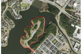 Controversy has erupted in The Woodlands after plans from the Howard Hughes Corp. were unveiled detailing a proposed new development on Mitchell Island in the East Shore area of the township. The island, currently empty, was set to have 19 mega mansions built on it. Now, Howard Hughes officials want to build 58 different homes.
