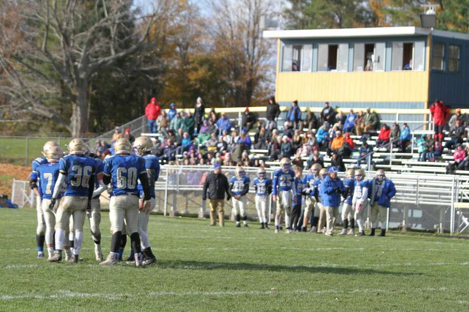 The Onekama Portagers will host Inland Lakes on Friday. (News Advocate file photo) Photo: News Advocate File Photo