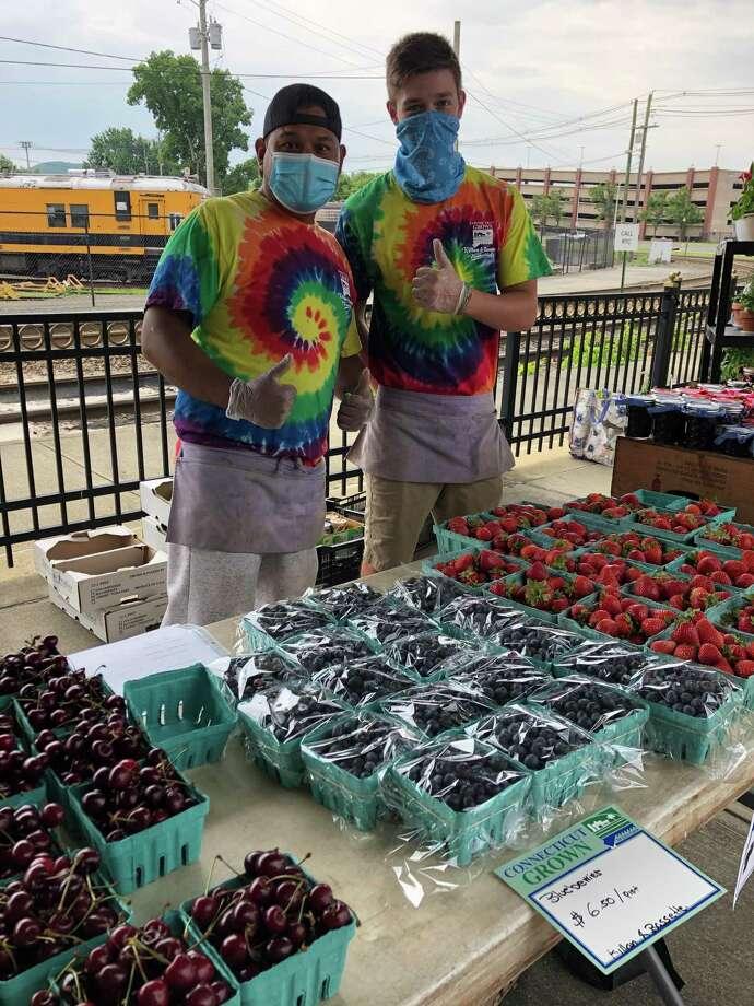 The Danbury Farmers' Market Photo: Contributed Photo / Peggy Zamore