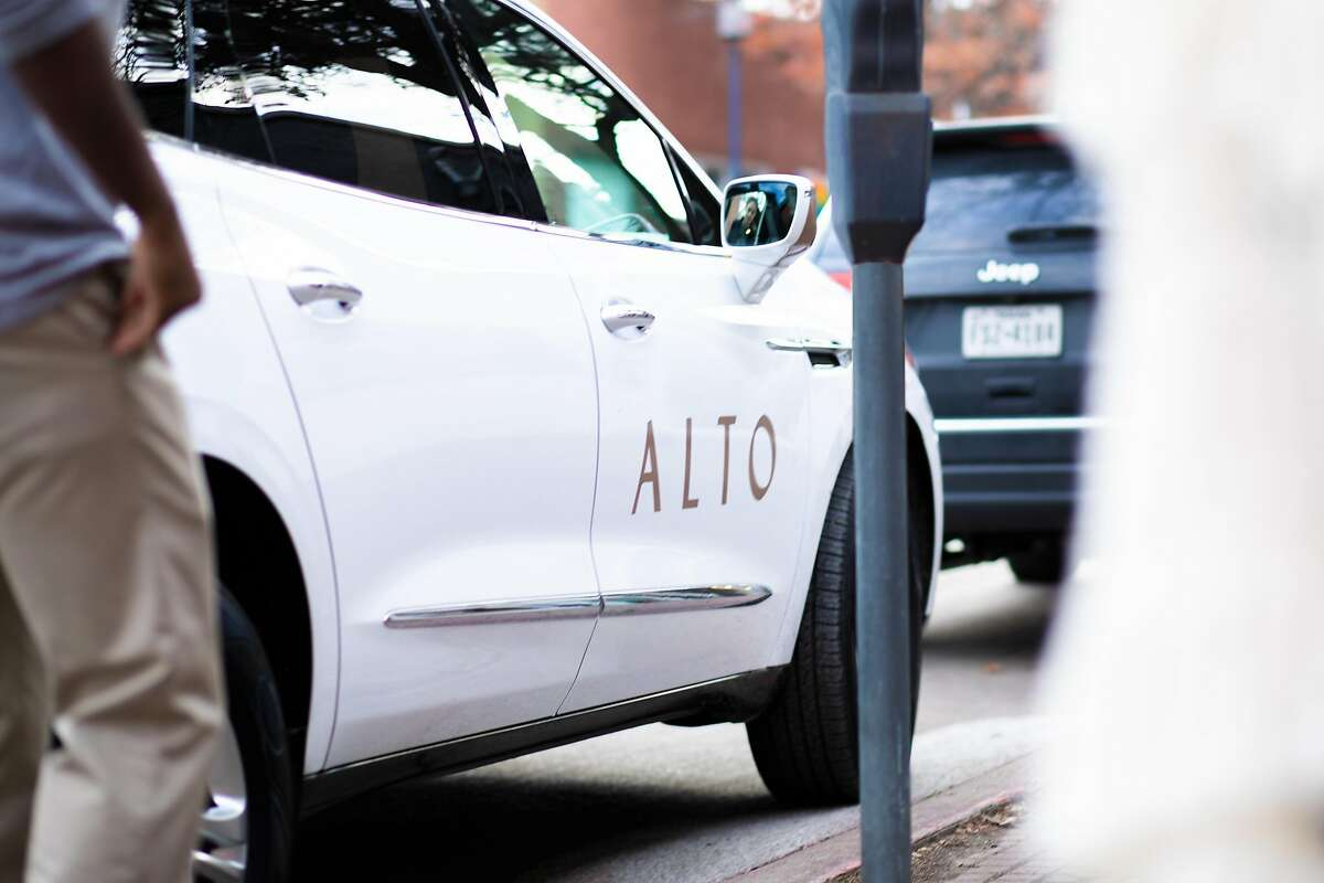 Alto, based in Texas, provides scheduled rides from drivers who are employees. It's coming to California this year.
