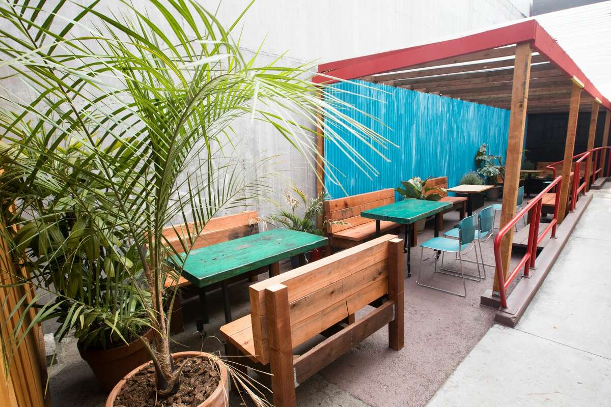Kingston 11 Cuisine, which features Jamaican food, is opening an outdoor patio space behind its restaurant in Oakland's Uptown neighborhood.