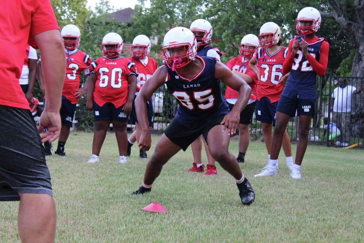Lamar football open up fall camp on Sept. 14 to prepare for the 2020-2021 football season.