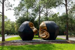 """Spiritus Mundi,"" by Spanish artist Pablo Serrano, is the largest display of public art on the University of Houston-Clear Lake campus. Faculty members will lead an online artists' conversation 5-6 p.m. Sept. 29."