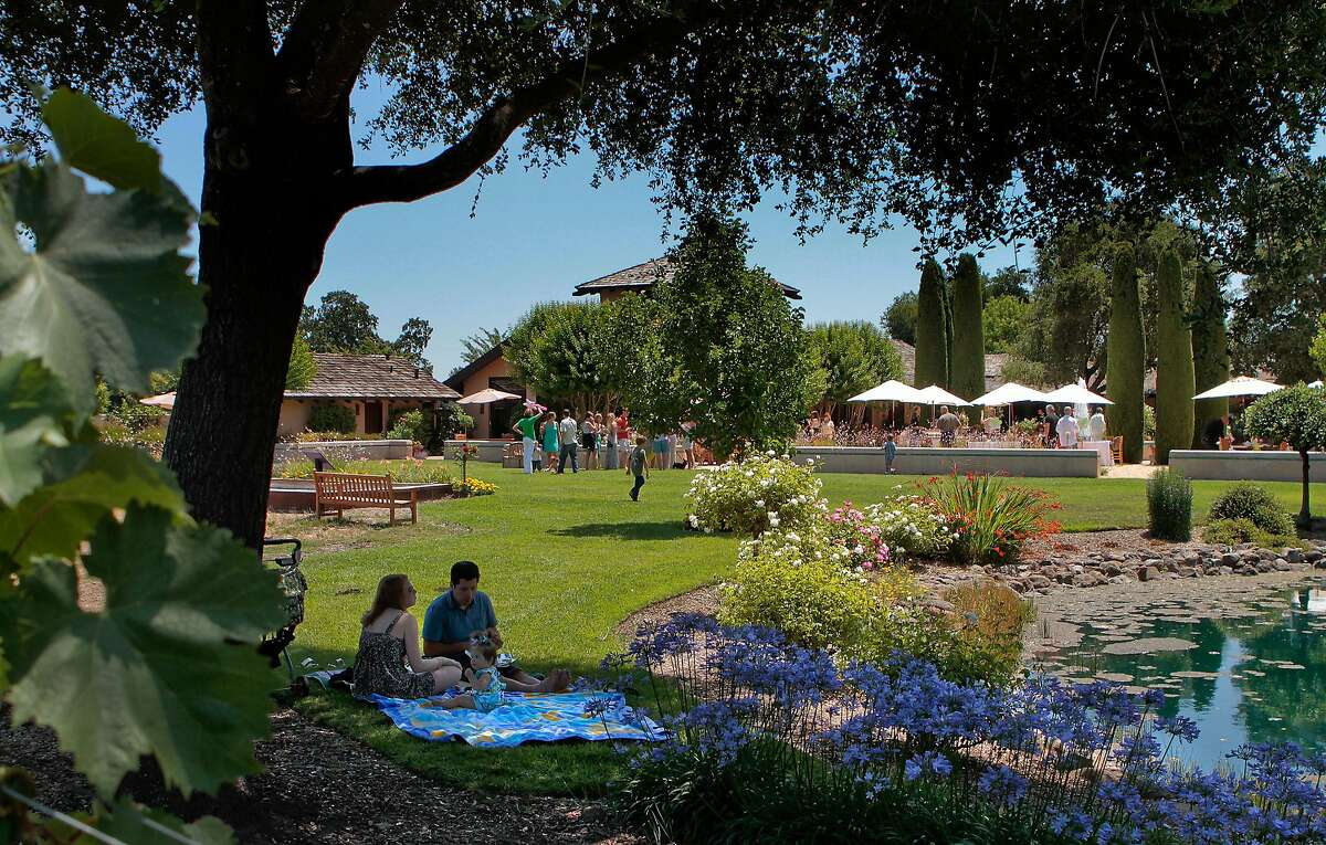 The grounds at Landmark Winery in Kenwood, Calif., are seen on July 23rd, 2011.