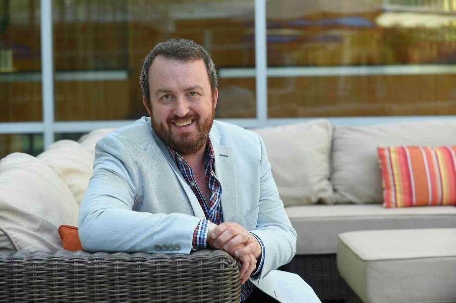 Jon Winkel, founder of Stamford Innovation Week. Photo: Matthew Brown / Hearst Connecticut Media / Stamford Advocate