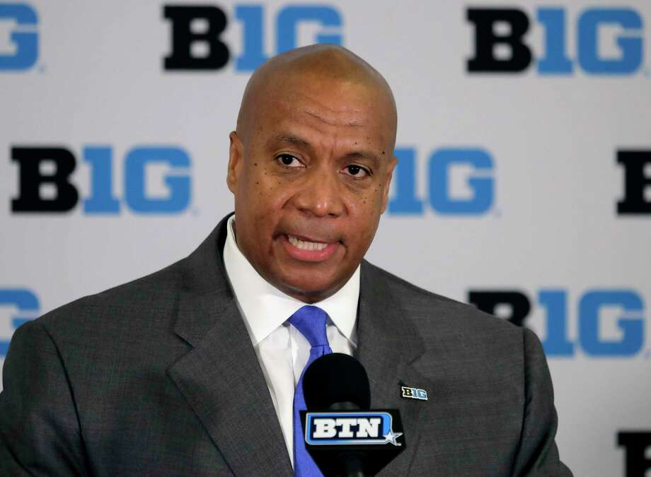 Big Ten commissioner Kevin Warren was urged by President Trump and leaders of six state legislatures to reconsider the conference's decision not to play football this fall. Photo: Charles Rex Arbogast, STF / Associated Press / Copyright 2019 The Associated Press. All rights reserved