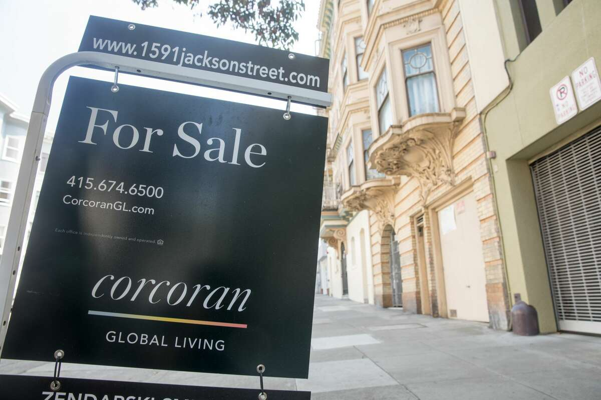 File photo of a home for sale in San Francisco.