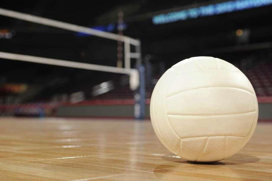 Volleyball on Wood Floor Photo: Matt_Brown / Getty Images / Matt_Brown Matt_Brown