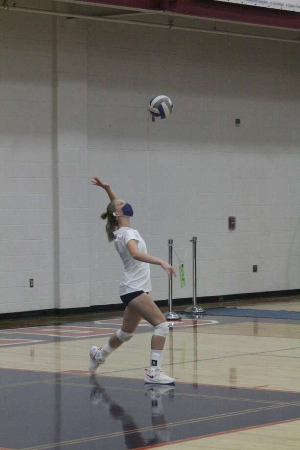 Big Rapids' volleyball team dropped a pair of nonleague matches on Thursday. Photo: John Raffel
