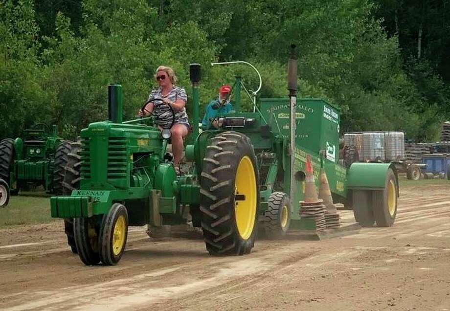 Sept. 18-20: Sawdust Days Pull Weekend, hosted by the Midland Antique Engine Association, is scheduled on the club grounds, 3226 S Meridian Road, south of M-20. (Photo/MAEA Facebook)
