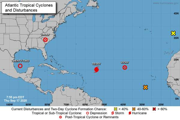 Tropical depression could strengthen in the coming days.