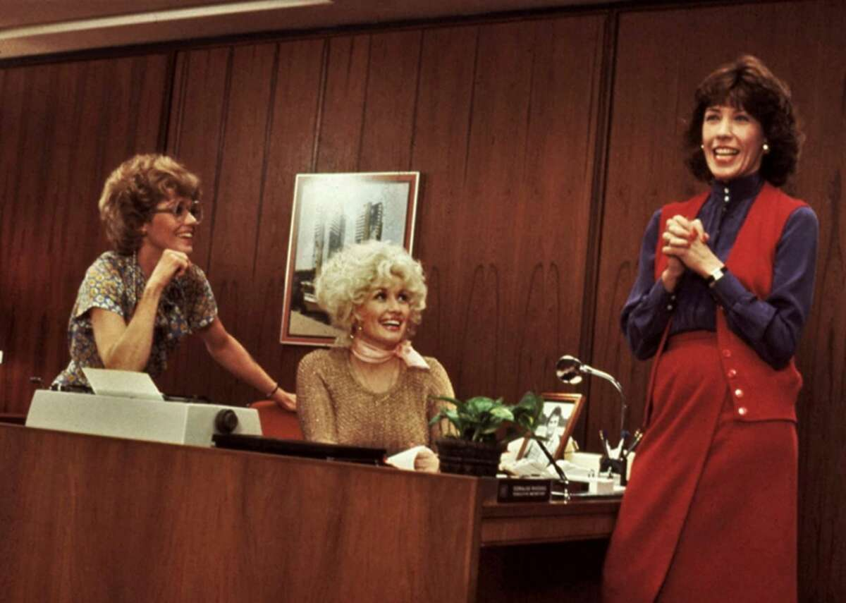 9 to 5 (1980) - Director: Colin Higgins - IMDb user rating: 6.8 - Metascore: 58 - Runtime: 109 minutes Jane Fonda, Lily Tomlin, and Dolly Parton star as three working women who realize their dreams of overthrowing their misogynistic, egotistical boss. A TV adaptation of