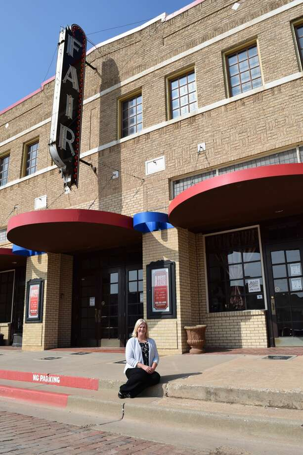 Melinda Brown, Plainview Main Street coordinator, said the downtown district constantly works to maintain its elite Main Street status. Photo: Ellysa Harris/Plainview Herald