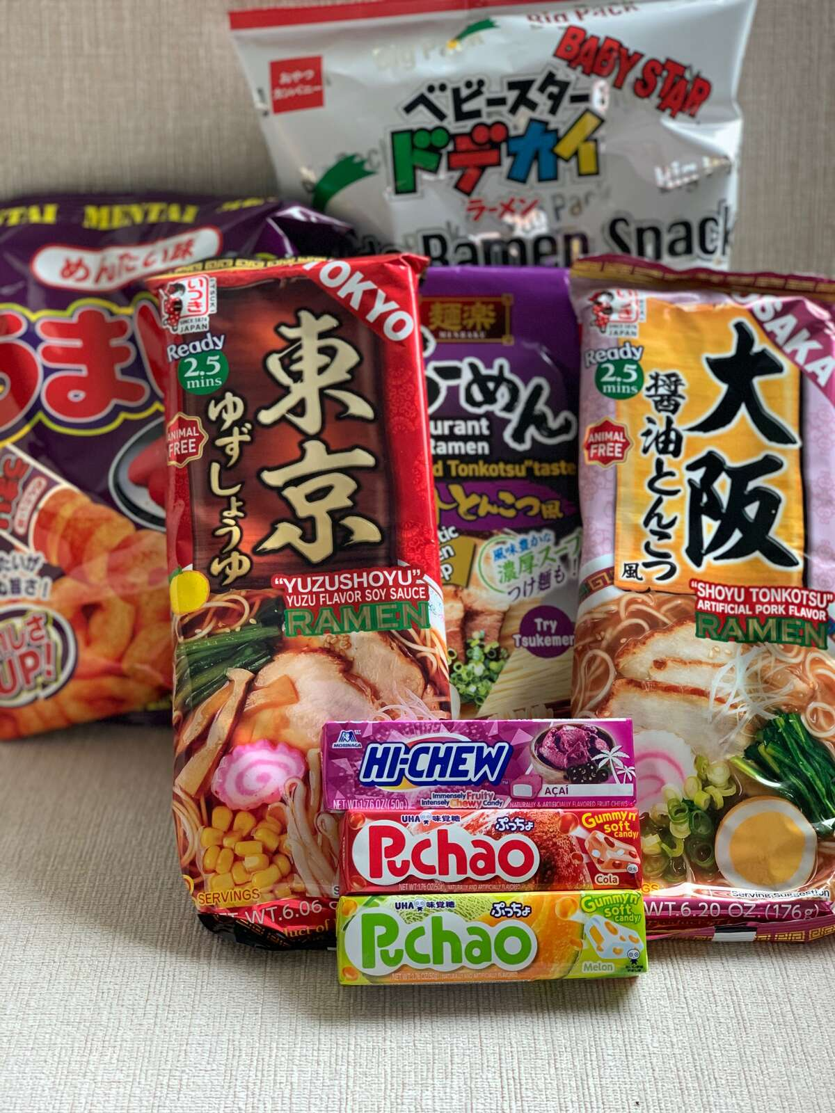 Some of the Japanese treats you can buy at the Mitsuwa Marketplace in Edgewater.