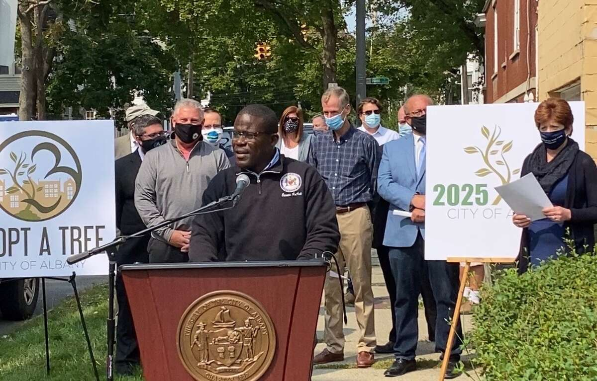 The city has started a program to plant 2,025 trees by the year 2025.