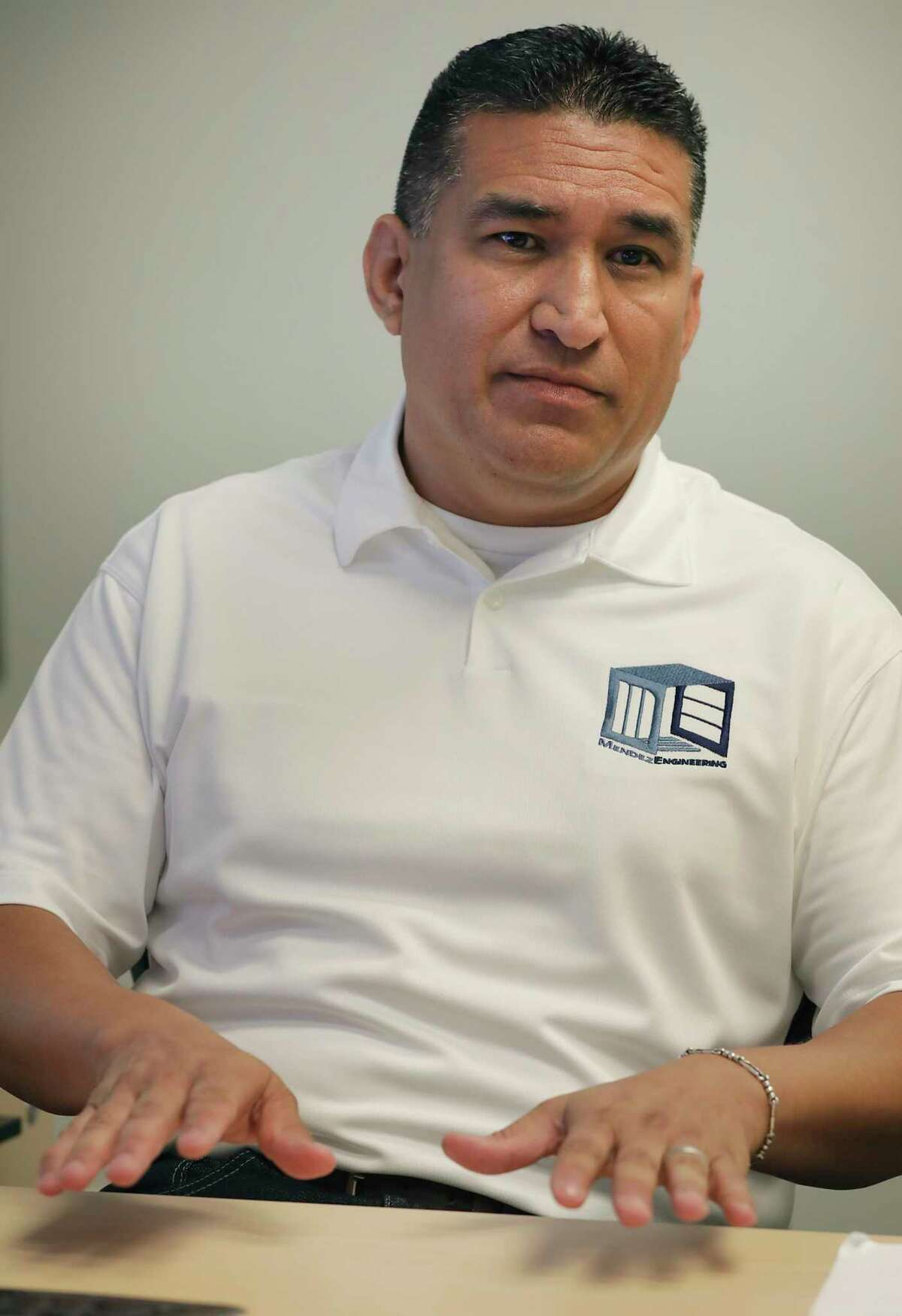 Ray Mendez owner of Mendez Engineering, has seen growth in his business, even during the pandemic, on Thursday, Sept. 10, 2020.