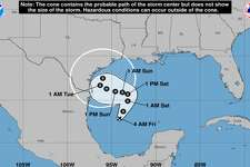 Experts haven't been able to determine whether San Antonio will be impacted by the tropical depression forming in the Gulf of Mexico as they continue to monitor the path of the storm.