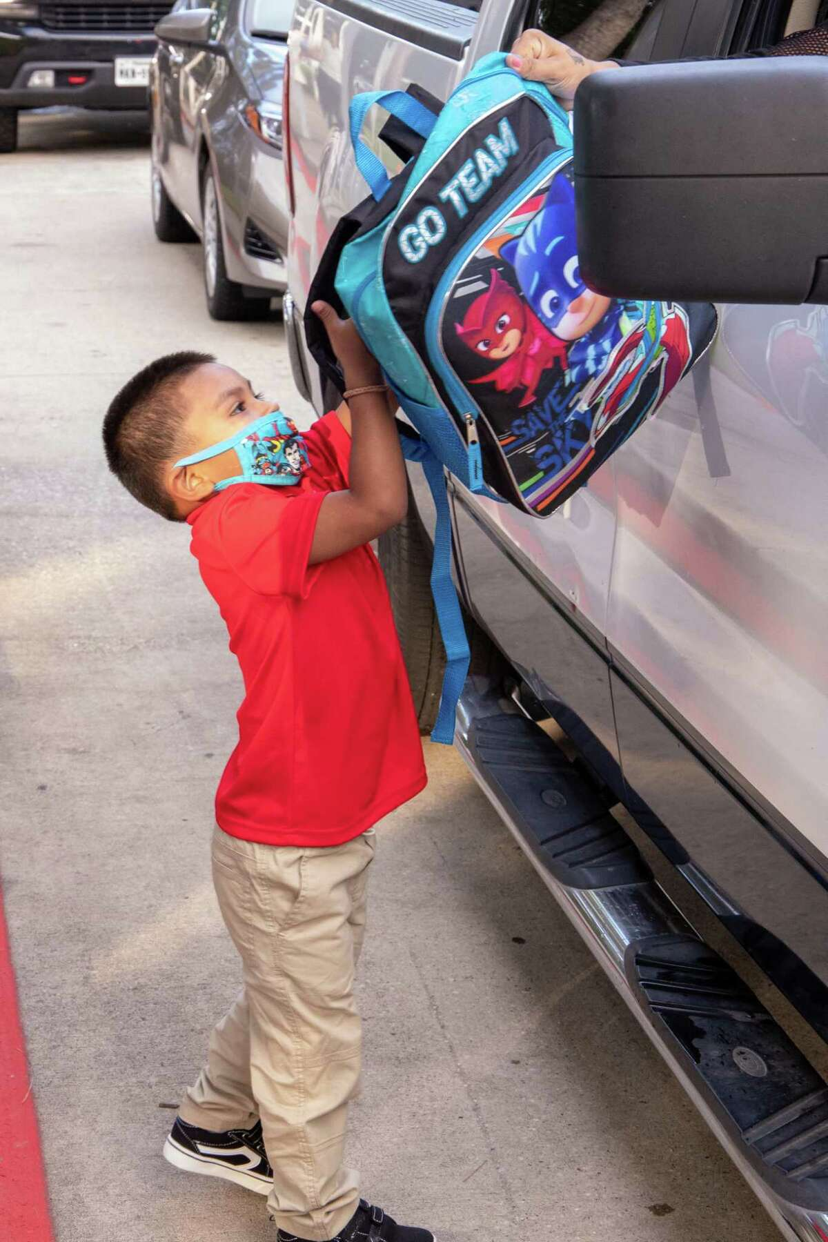 Spring ISD welcomes back students Sept. 14. The district brought back students from pre-K through second grade, and will begin bringing more students back in the coming weeks.