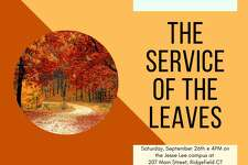 "The ""Service of the Leaves"" will be held outdoors by the gazebo on the Jesse Lee Church campus at 207 Main Street, at 4 p.m., Saturday, Sept. 26."