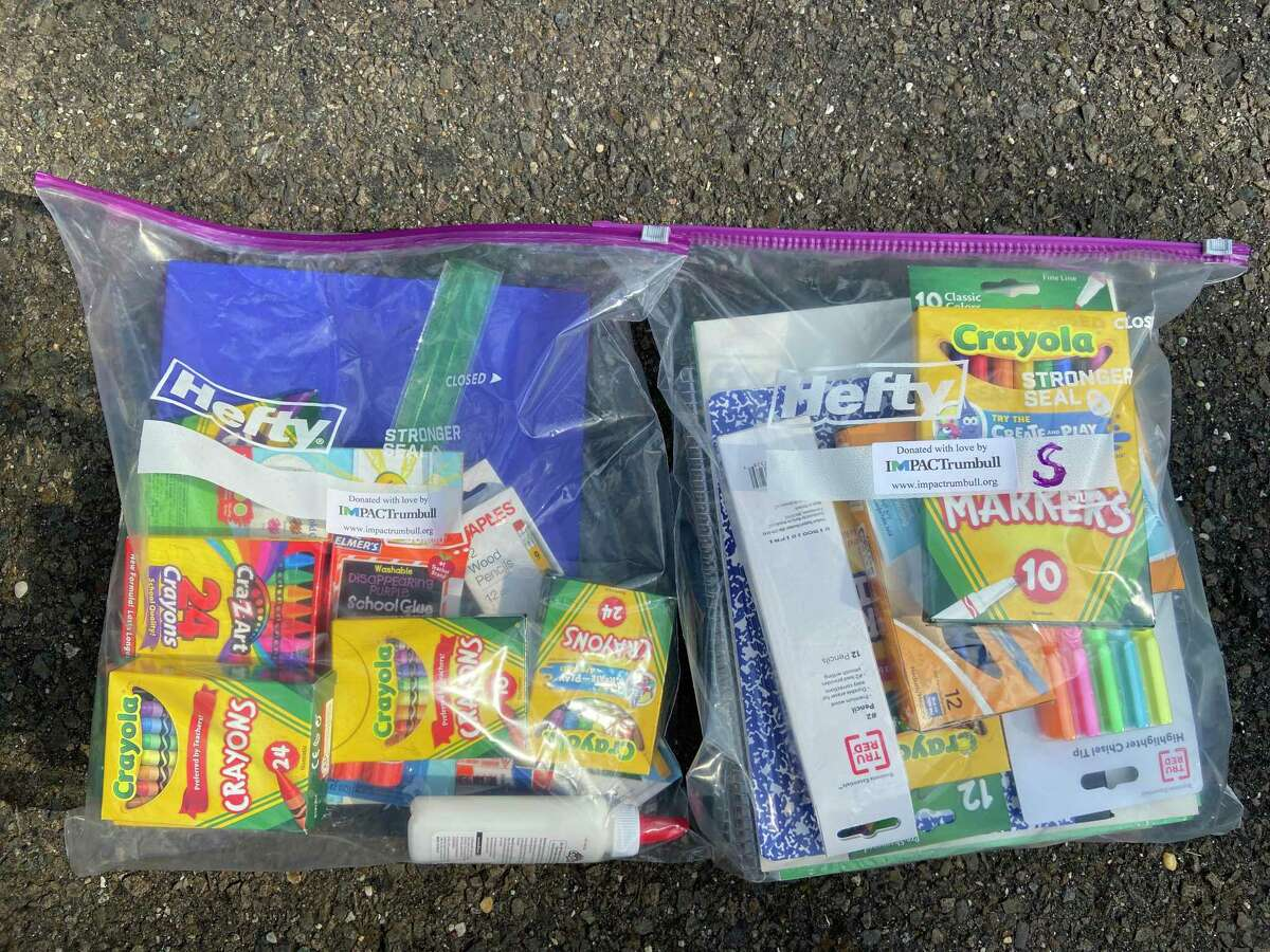 IMPACTrumbull, a local 501c3 in Trumbull, completed its annual annual Back to School supplies drive, delivering 100 school kits and 50 backpacks to Family ReEntry and Center for Family Justice, both of which support hundreds of children and families throughout Fairfield County.