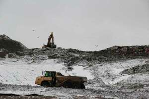 The Huron County Landfill, which has been identified as a spot with PFAS contamination back in August. (Tribune File Photo)