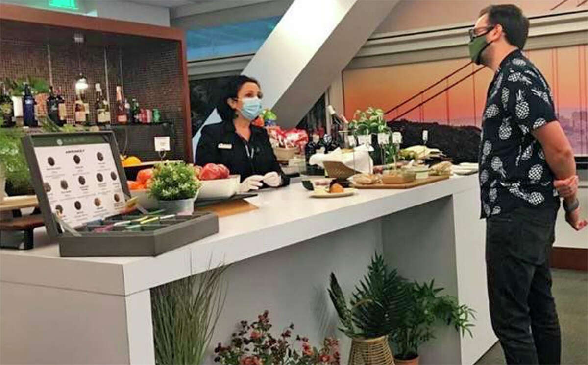 The Air France-KLM lounge at SFO's International Terminal has reopened.