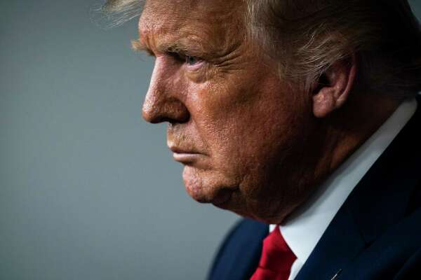 President Donald Trump speaks during a news briefing in the James S. Brady Press Briefing Room at the White House on Sept 16, 2020 in Washington, D.C.