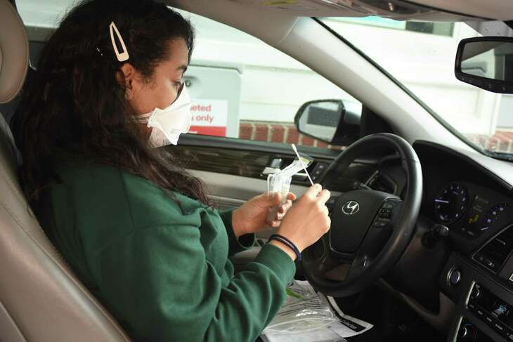 Drive-thru COVID-19 testing is now available at 25 CVS pharmacies in San Antonio as part of a national push to expand its testing capacity.