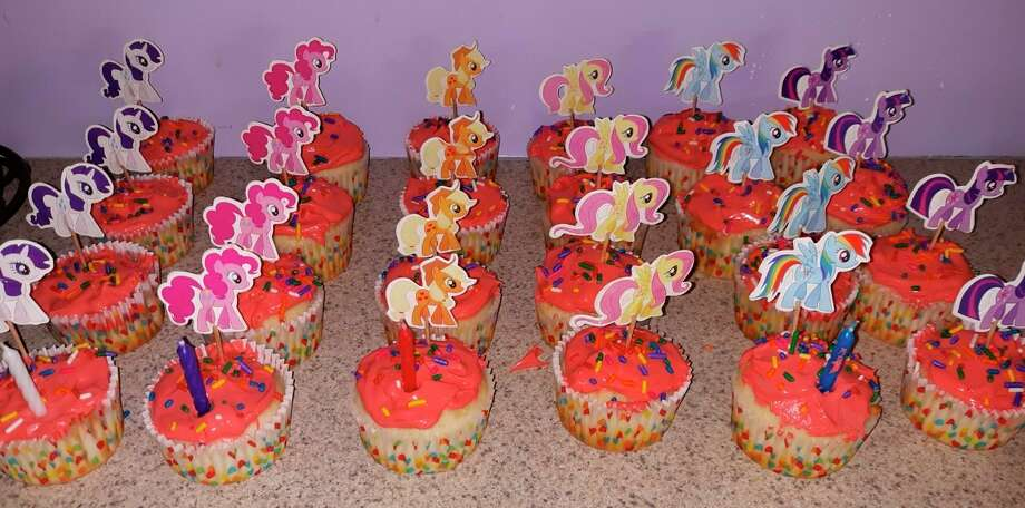 Cupcakes for Abigail's birthday. (Courtesy photo)