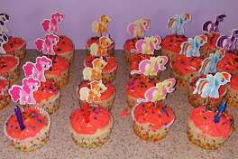 Cupcakes for Abigail's birthday. (Courtesy photo)