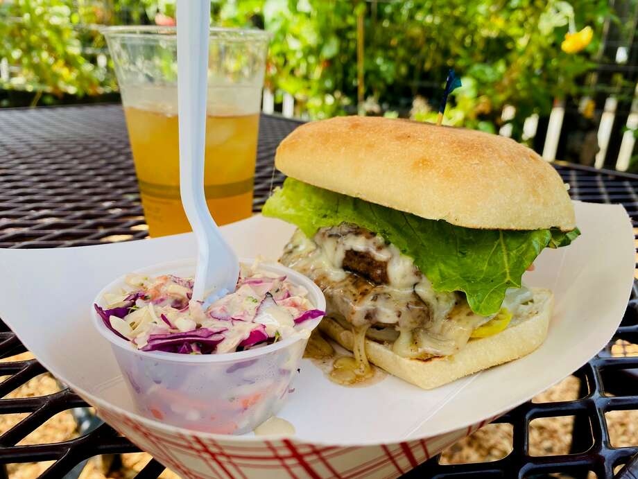 Sunset Magazine named this roadside hamburger one of the best in the American West. Photo: Ashley Harrell