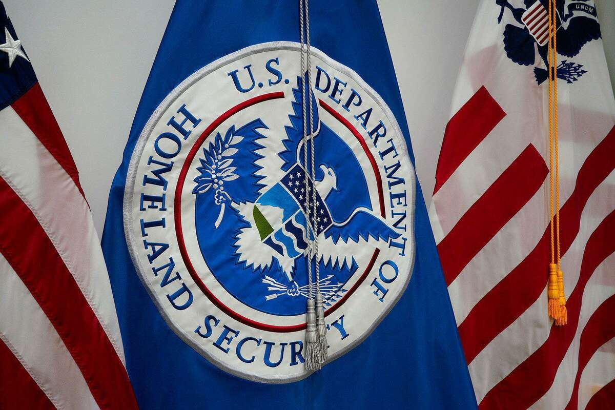 The Department of Homeland Security flag.