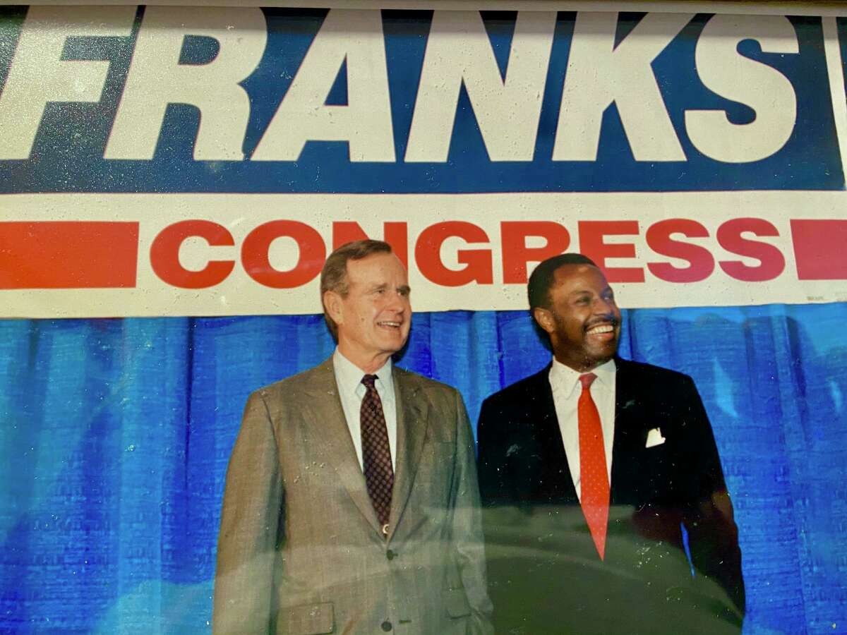 President George H.W. Bush supported Gary Franks run for Congress in Connecticut's 5th District in 1990. Franks became the first Black Republican elected to Congress in nearly 60 years.