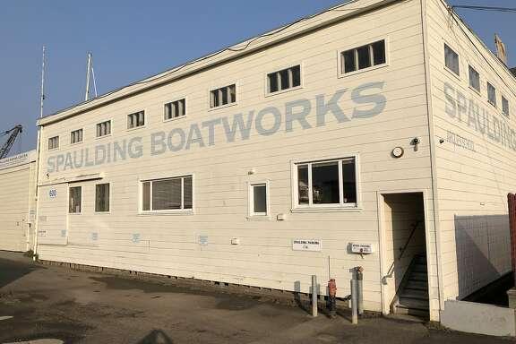 Spaulding boatworks and infudustrial center building Marinship