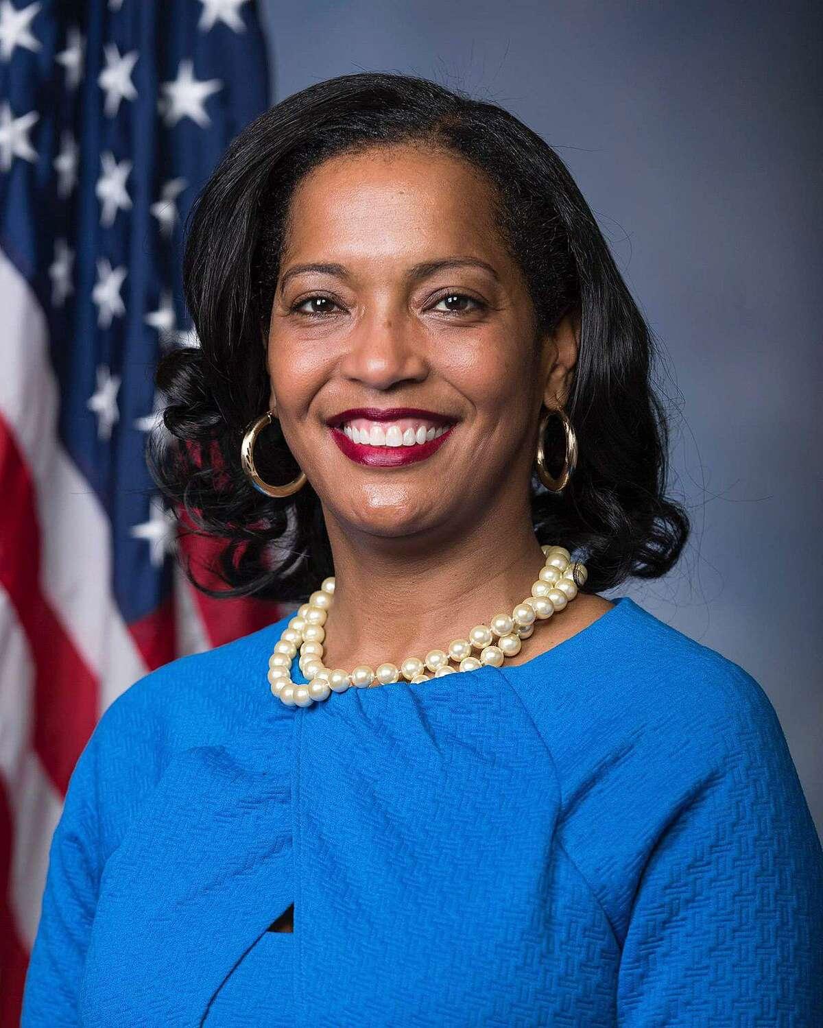 U.S. Rep. Jahana Hayes, a Democrat seeking a second term representing Connecticut's 5th Congressional District.