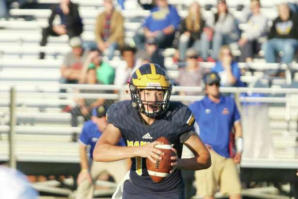 Manistee quarterback Keelan Eskridge will look to lead the Chippewas in his senior season under center. (News Advocate file photo)