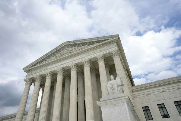 The U.S. Supreme Court stands in Washington, D.C., on Aug. 1, 2020.