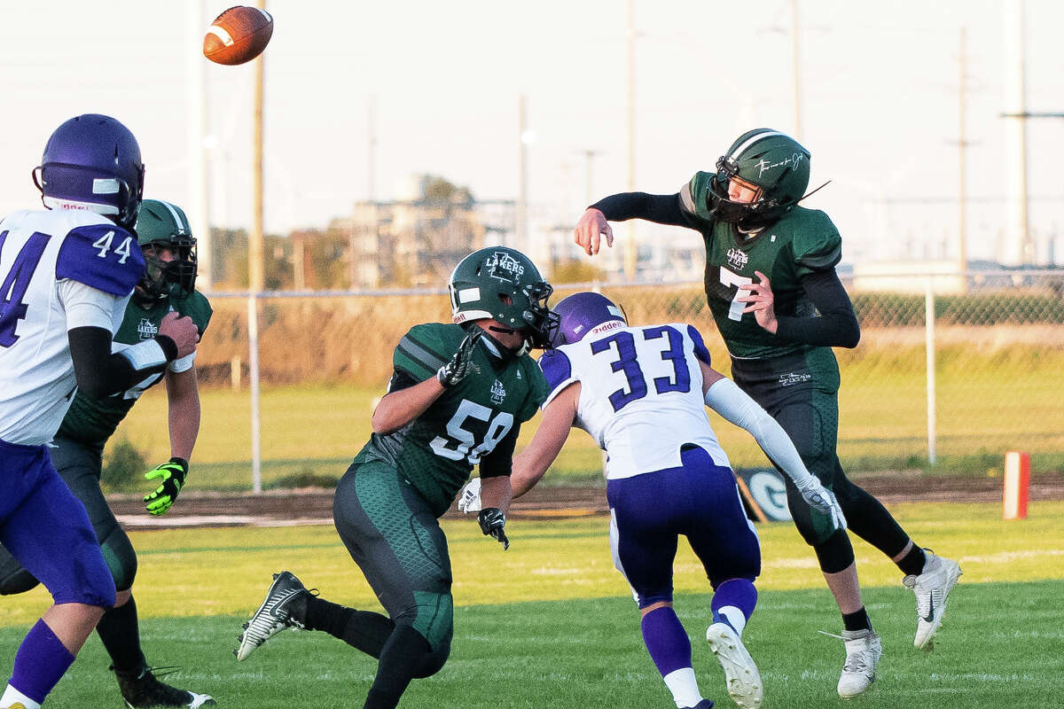 Laker High School opened the 2020 football season with a 38-7 win over visiting Caro on Friday night.