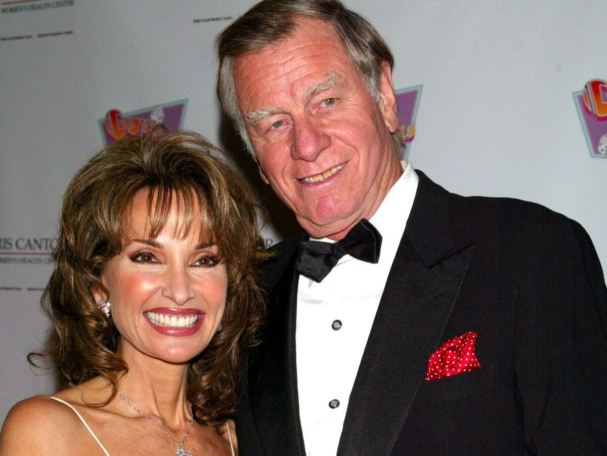 Actress Susan Lucci and husband Helmut Huber attend a star-studded concert staging of the classical musical